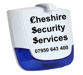 Cheshire Security Services Intruder & Burglar Alarm System Bell Box